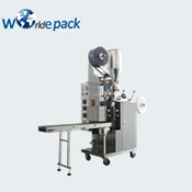 Semi-automatic double chamber tea bag machine